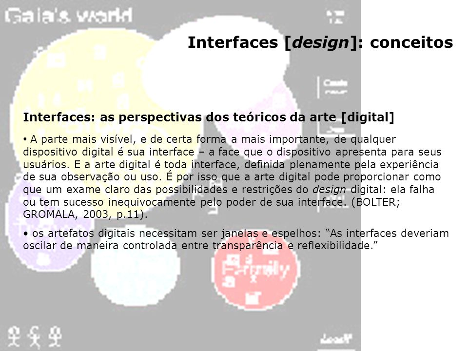 Interfaces [design]: conceitos